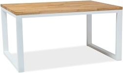 Jídelní stoly s kovovou podnoží