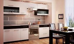 Kuchyně Jura new B bílá a wenge