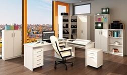 Kancelářský nábytek Johan bílá