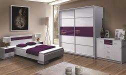 Sektorový nábytek do ložnice
