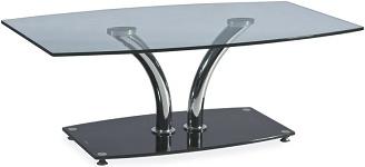 Konferenční stolky skleněné a kovové