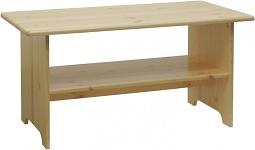 Konferenční stolky dřevěné z masivu a dýhy