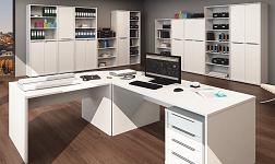 Kancelářský nábytek Rioma bílá