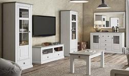 Sektorový nábytek Liona bílá