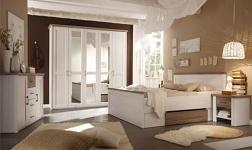 Ložnice Lumera pinie bílá a dub sonoma truflový