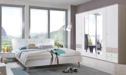 Ložnice Bergen bílá a dub