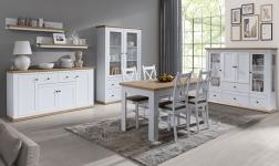 Sektorový nábytek Leon bílá a dub grand