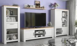 Sektorový nábytek Rene bílá andersen a dub bernstein