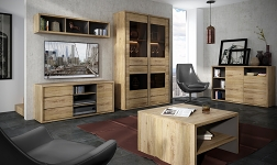 Sektorový nábytek Sheldon dub shetland
