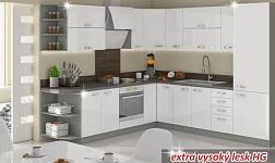 Kuchyně Prado HG vysoký lesk bílý