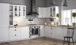 Kuchyně Provance sosna andersen a bílá