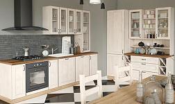 Kuchyně Royal sosna skandinávská a bílá