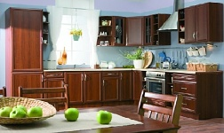 Kuchyně Sicilia ořech Milano