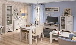 Sektorový nábytek Tiffy woodline krém