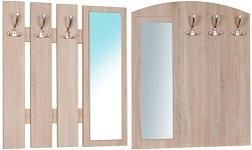 Věšákové panely a zrcadla