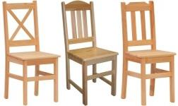Jídelní židle z borovice