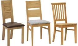 Jídelní židle z dubu
