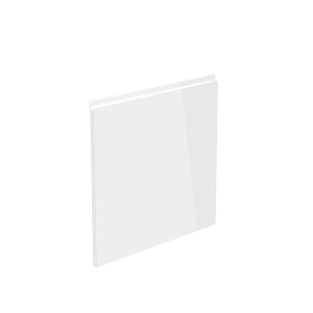 Dvířka na myčku, bílá extra vysoký lesk HG, 59,6x57, AURORA