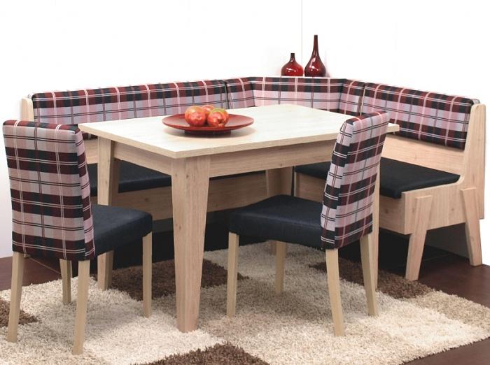 Rohová jídelní lavice MAXIM
