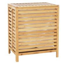 Koš na prádlo MENORK přírodní bambus
