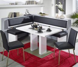 Rohová jídelní lavice TRIO