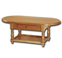 Rustikální konferenční stolek 8950 dub rustikál, 120x60 cm