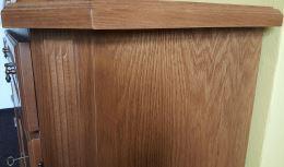 Rustikální komoda 3871 televizní stolek