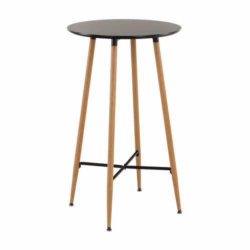 Barový stůl IMAM černá a dub