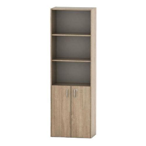Kancelářská skříňka se zámkem, dub sonoma, TEMPO ASISTENT NEW 002
