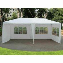 Zahradní párty stan, bílá, 3x6 m, TEKNO TYP 2