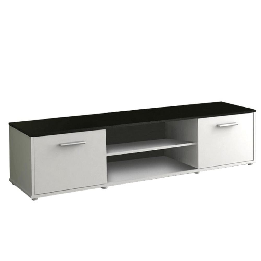 TV stolek ZUNO NEW 01 bílá/černá
