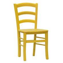 Jídelní židle Paysane color, sedák masiv