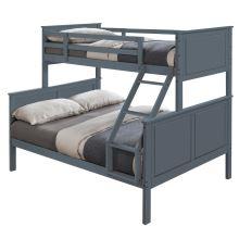 Patrová rozložitelná postel, šedá, NEVIL