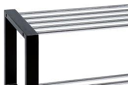 Botník 83168-11 BK černý, chrom