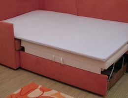 Čabraka na sedací soupravy VAC pro každodenní spaní