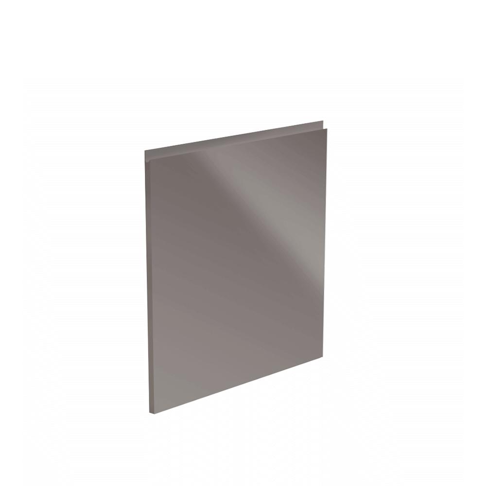 Dvířka na myčku, bílá / šedá extra vysoký lesk HG, 44,6x57, AURORA