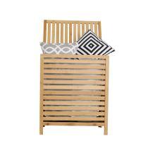 Koš na prádlo MENORK bambus, barva přírodní