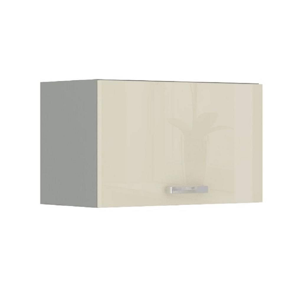 Skříňka horní nad digestoř, krém vysoký lesk, PRADO 60 OK-40