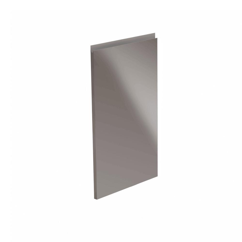 Dvířka na myčku, bílá / šedá extra vysoký lesk HG, 44,6x71,3, AURORA