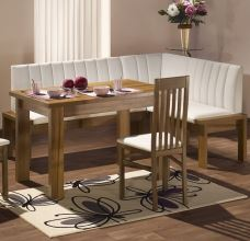 Rohová jídelní lavice HELENA