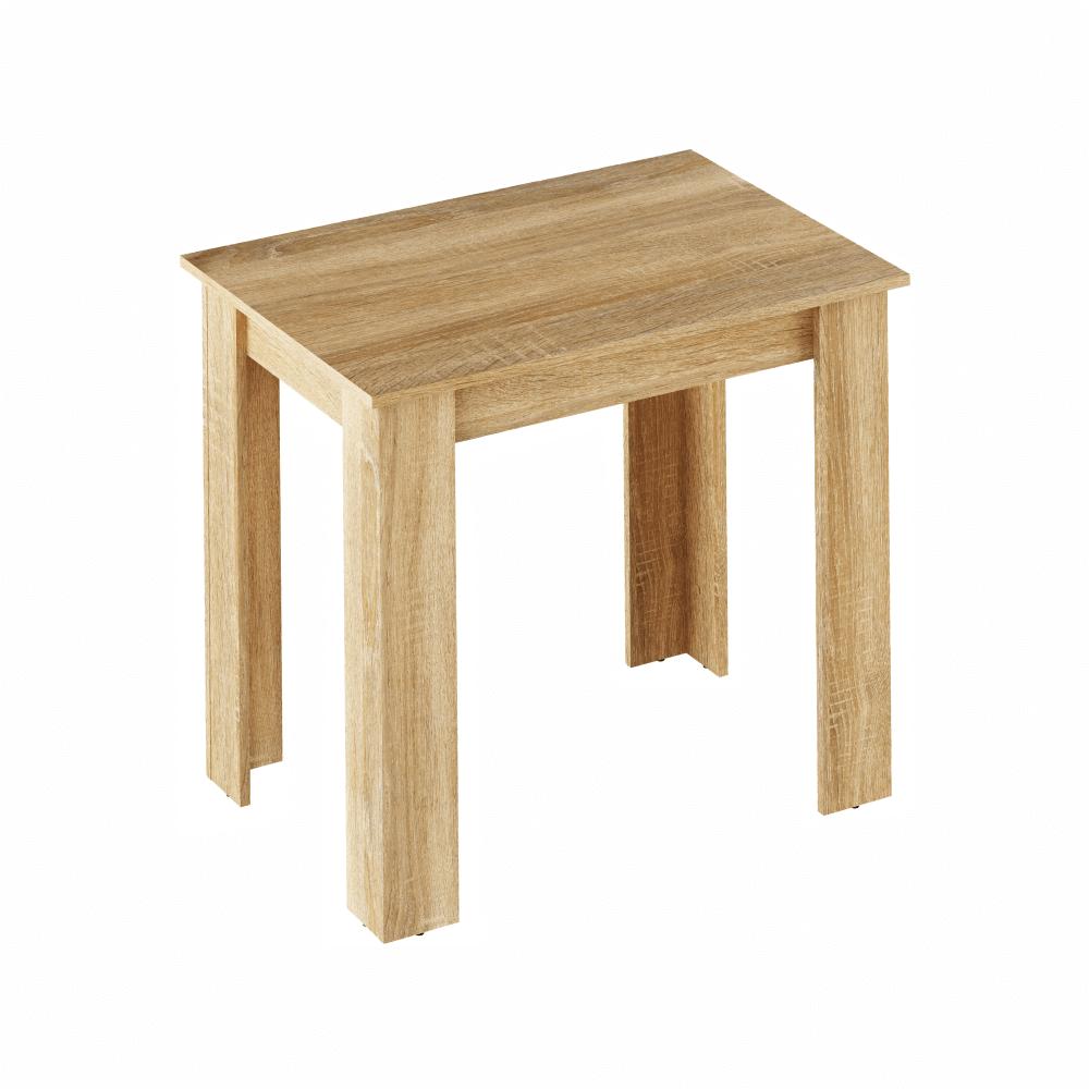 Jídelní stůl TARINIO 86x60 cm, dub sonoma