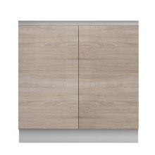 Skříňka dolní dvoudveřová 80, dub sonoma, LINE
