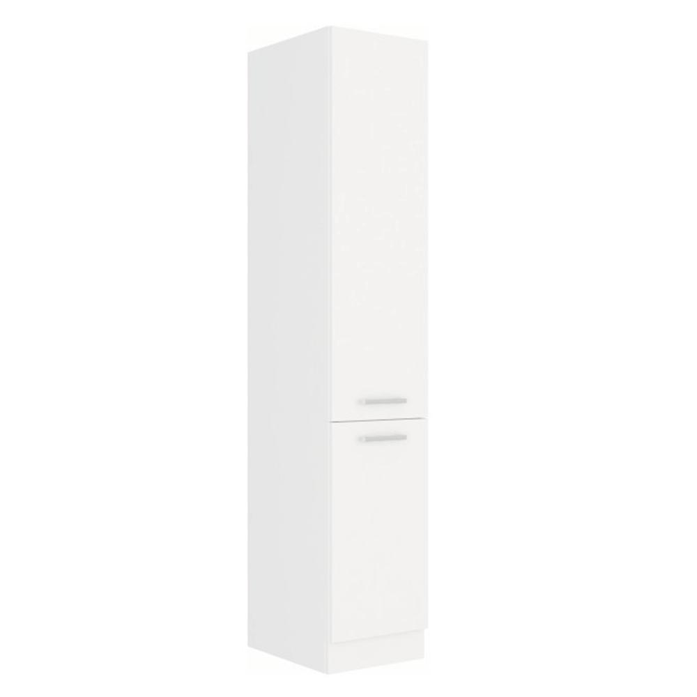 Potravinová skříň vysoká, bílá, SPLIT 40 DK-210 2F
