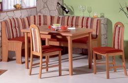Rohová jídelní lavice SEVILLA B4