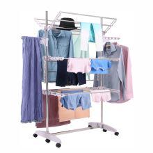 Sušák na prádlo DENAL kov chrom a plast bílý
